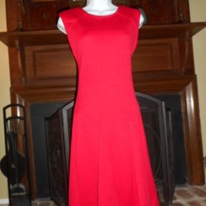 NWOT Red fit and flare dress, 4